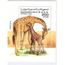 GIRAFE - SAHARA OCCIDENTAL - BLOC NEUF.