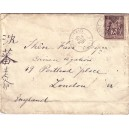 BFE-PORT SAID-EGYPTE 25-11-1898 / SAGE N°97DE FRANCE