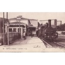 ARDECHE - PRIVAS - LA GARE - LOCOMOTIVE.