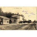 GIRONDE - LESPARRE - LA GARE - LOCOMOTIVE + ANIMATION.*