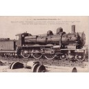LES LOCOMOTIVES FRANCAISES - MACHINE 230 609 - CONSTRUITE EN 1907.