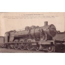 LES LOCOMOTIVES FRANCAISES - MACHINE 231-036 - CONSTRUITE EN 1910.