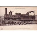 LES LOCOMOTIVES FRANCAISES - MACHINE 30-022 - SERVICE DE MANOEUVRES