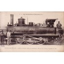 LES LOCOMOTIVES FRANCAISES - MACHINE 030-623 - CONSTRUITE EN 1862.