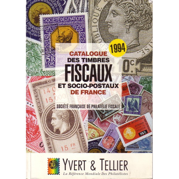 flophil 84 catalogue des timbres fiscaux et socio postaux de france yvert et tellier 1994. Black Bedroom Furniture Sets. Home Design Ideas